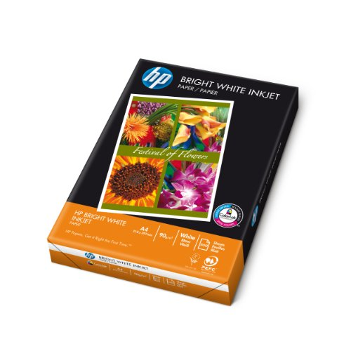 HP C1825A A4 Plain Paper, 210 x 297 mm - Bright White, 500 Sheets