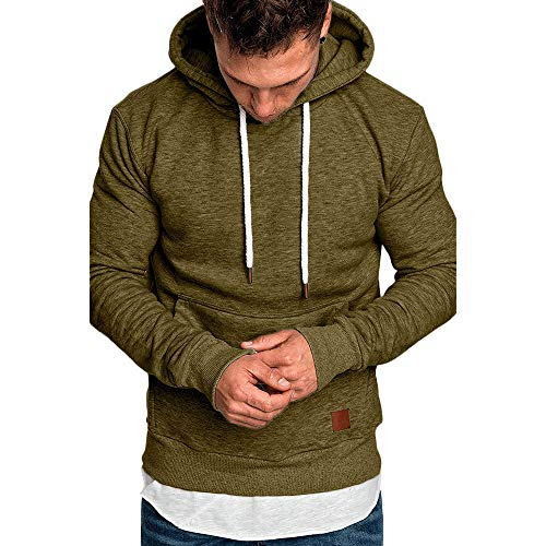 FRAUIT Männer Sweatshirt Langarm Herbst Winter Herren Kapuzenpullover | Sale | Casual Sweatshirt Hoodies Top Bluse Trainingsanzüge