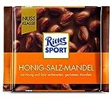 Ritter Sport Nuss Klasse Honig Salz Mandel Tafelschokolade