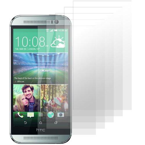 moodie Displayschutzfolie für HTC One E8 [5 Stück] Premium Folien Kristallklar mit Anleitung für HTC One E8