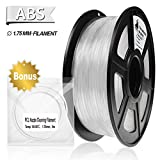 3D Filament, ABS 3D Printer Filament 1.75mm, 1KG Spool(2.2lbs),3D Printing Filament...
