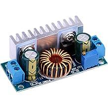 Yeeco Car DC DC Boost Voltage Converter 6-32V to Adjustable 6-42V 12V to 24V 8A Step Up Volt Regulator Power Transformer Stabilizer Module for Solar Panel Car