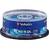 Verbatim Blu-Ray BD-R DL 98356 50GB 6 X 25-Pack Spindel