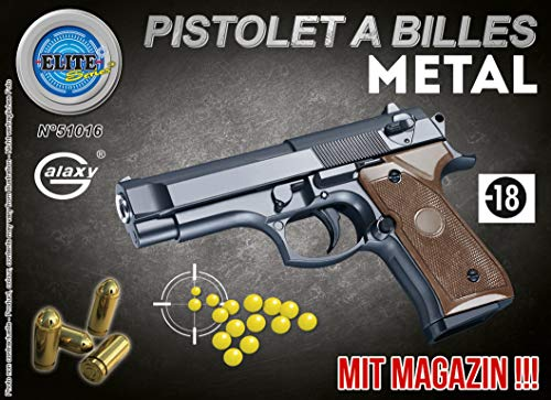 Preisvergleich Produktbild KOSxBO® Set Elite Kinder Erbsenpistole inklusive Munition für unseren kleinen Polizisten / Airsofter / Soldaten / Verbrecher