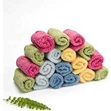 Toallitas de algodón gruesas Cheeky Wipes orgánicas premium Rainbow Zero Twist ...