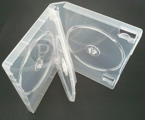 4 Weg DVD Hülle Super Klar 27mm Rücken (1)