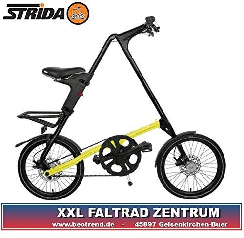 STRIDA SX black neonyellow Faltrad 18Zoll 9,5kg neon