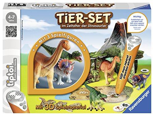 Preisvergleich Produktbild Ravensburger 00746 - Tiptoi Tier Set Im Zeitalter der Dinosaurier