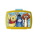 P: OS 68931 - Disney Winnie The Pooh Brotbox, Gelb, 16 x 12 x 6,5 cm