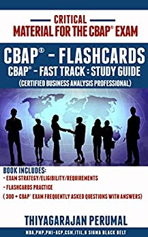 CBAP/CCBA Certified Business Analysis Study Guide – A Book Review