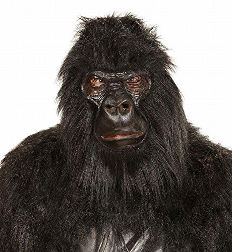 e Gorilla aus Schaumlatex und Plüsch (Echte Gorilla-kostüm)