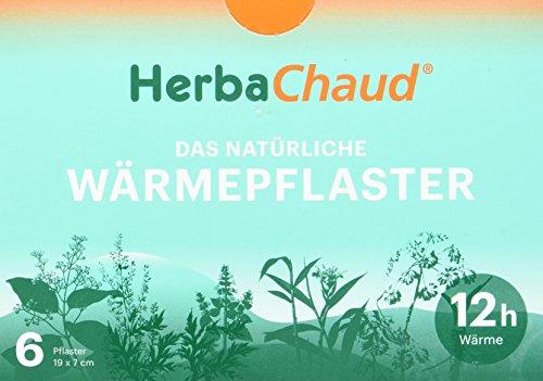 HerbaChaud 1005928 Natürliches Wärmepflaster, 6 Stück