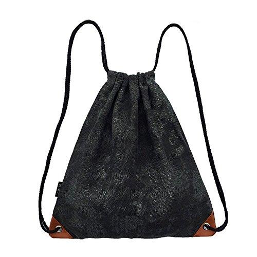 Laat sacchetto di sport zaino Drawstring sacchetto di viaggio Rucksack per uomini e donne Daypack