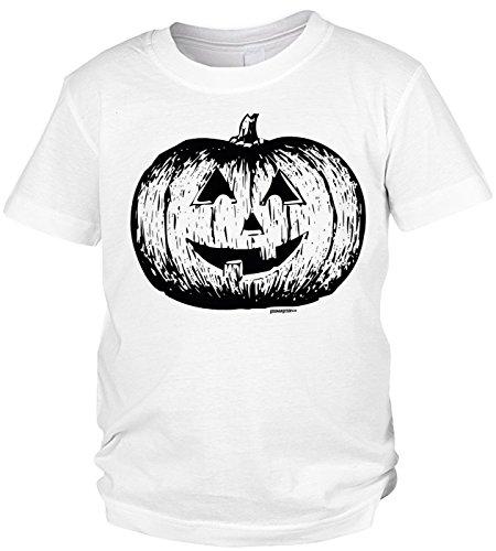 aß-Shirt/Sprüche-Shirt/Fun-Shirt: Halloween Pumpkin - witziges Jungen/Kinder-Shirt ()