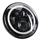 CICMOD Motorrad 7 inch Hi/Lo H4 Superhell LED Scheinwerfer Frontscheinwerfer Hauptscheinwerf Wasserdicht Staubdicht IP68