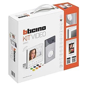 Interphone Bticino 363911, Classe 300 x13e et Linea 3000, avec support, blanche.