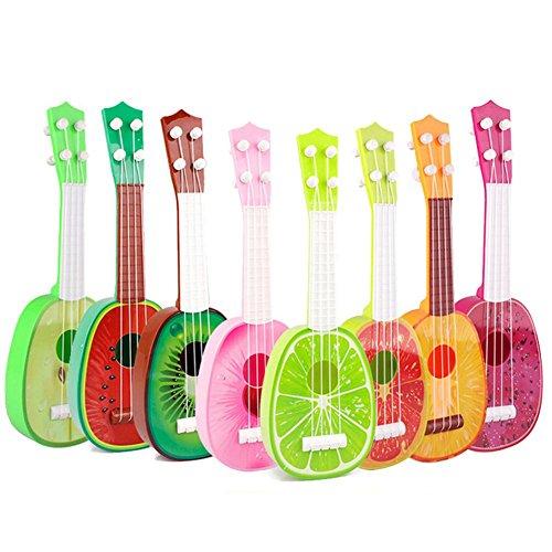 Teabelle - Guitarra Musical de Fruta, Ukelele, Juguete Educativo para niños