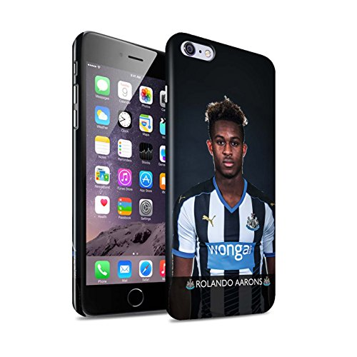 Offiziell Newcastle United FC Hülle / Glanz Snap-On Case für Apple iPhone 6S+/Plus / Pack 25pcs Muster / NUFC Fussballspieler 15/16 Kollektion Aarons