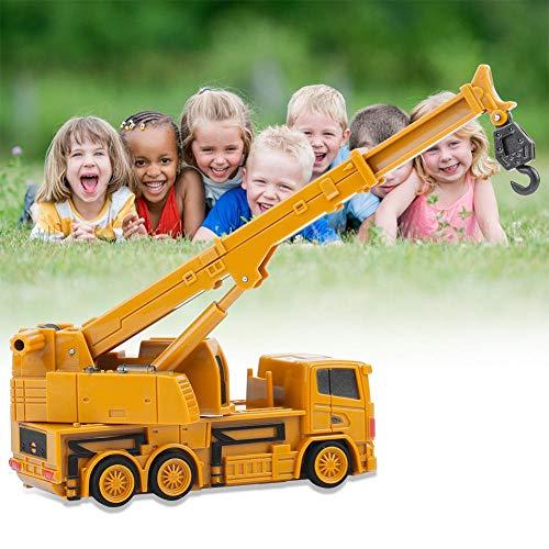 RC Auto kaufen Baufahrzeug Bild 6: Fernbedienung Bagger LKW Bagger Spielzeug RC Kran Mini Baufahrzeug Kinder Geschenk(Kran)*
