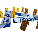 6m Adorno Cintas de barrera Policía y Marcos de Fotos de Prueba (1-10)