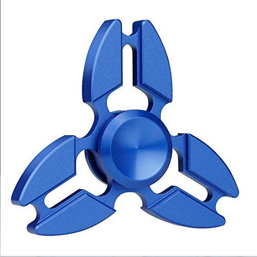 Preisvergleich Produktbild Hand Spinner,  ikalula Fidget Spielzeug Spinner Toy Finger Hand Tri Spinner Ultra schnelle Spinner Fidget Hand Toy für Kinder und Erwachsene Spielzeug Geschenke - blau