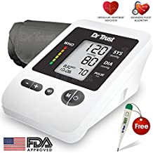 Dr. Trust Blood Pressure Monitor Silver Line (White)