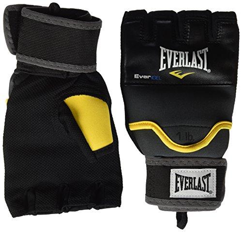 Everlast Erwachsene Boxartikel 4355Gr Aka Weighted Gel Wraps Ever Handwraps, Black, L/XL -
