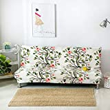 WUFANGFF Blüte Pattern Sofa Polyester Full Package Elastizität Eindickung Set