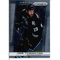 2013/14 Panini Prizm NHL Hockey Card # 174 Joe Thornton San Jose Sharks