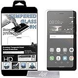 X2 Film Protecteur d'écran en VERRE TREMPE pour Huawei P9 Lite Ultra Transparent Ultra Résistant INRAYABLE INVISIBLE (2 Exemplaires)