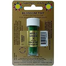 Sugarflair Blossom Tints Essbare Puderfarben Lebensmittelfarbe Fondant Puder Apple Green Grun