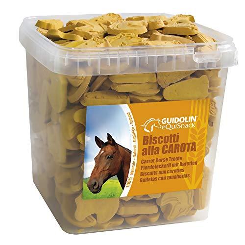 EQUISNACK Biscotti alla Carota 2.5 kg - 1 Secchiello