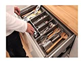 HIGH Quality Plastic Cutlery Tray for Kitchen Drawers Insert Various Sizes/Formations (422mm x 900mm)
