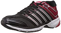 Columbus Mens Response Black and Red Mesh Running Shoes - 7 UK (RESPONSEBLKRD007)