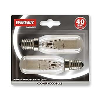 eveready lampe pour hotte aspirante 40 watts ses luminaires et eclairage. Black Bedroom Furniture Sets. Home Design Ideas