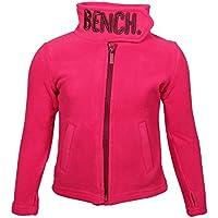 Bench BKGE001289 FUNNEL FLEECE typischer Bench-Fleece Pulli mit hohem Kragen, bequem, warm und stylisch