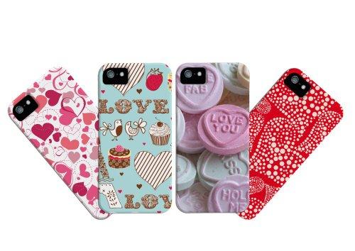 Case-mate Barely There Schutzschale für Smartphone mit Valentins-Motiv Red Heart