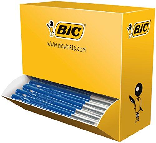 bic-m10-clic-boligrafo-de-bola-trazo-medio-100-unidades-azul