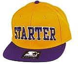 Starter–Gorra de 2Tone College Arch Logo–Yellow/Purple, hombre, talla única
