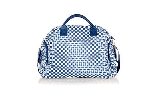 Wickeltasche Baninni Torino in drei Farben, Design:Gray Blue