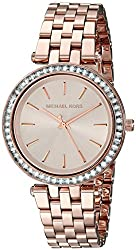 Michael Kors Analog Rose Dial Womens Watch - MK3366