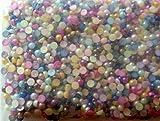 New Nail Art 1000 Stück Strass Steine Multi Color Bunt Strasssteinchen, Einleger für Gelnägel Strass Glitzer Steinchen