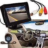 Copia de seguridad cámara, C 'Est coche retrovisor Monitor LCD inalámbrico + 4,3 pulgadas Estacionamiento Cámara de visión nocturna