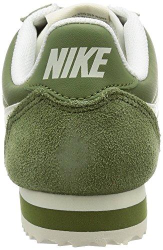 Nike Wmns Classic Cortez Nylon, Scarpe da Ginnastica Donna Verde (Palm Green/Sail)