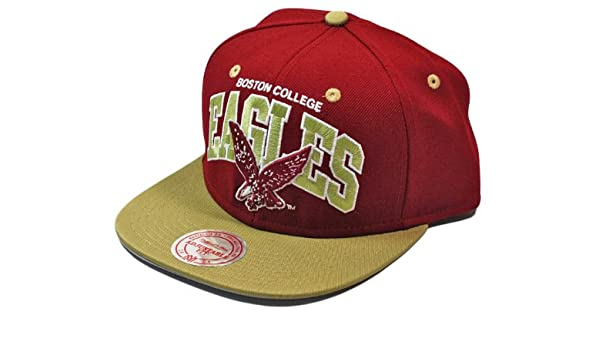 Mitchell   Ness Boston College Eagles Team Arch Snapback NCAA Cap   Amazon.co.uk  Sports   Outdoors bf0387ac3fe1