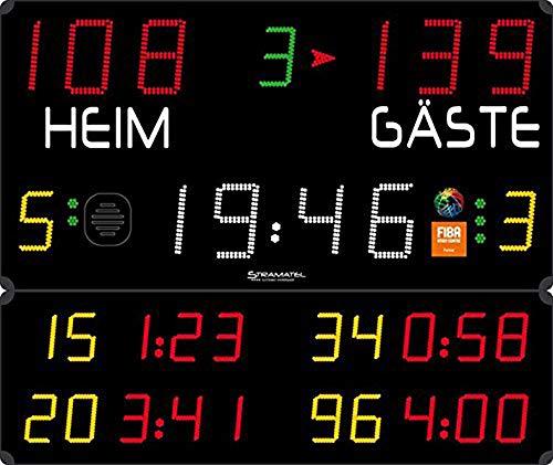 Boje Sport Anzeigetafel 452 MB 3003 FIBA von Stramatel