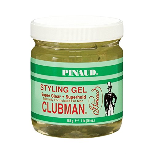 Clubman Pinaud Super Clear Styling Gel 473 ml (Clubman Shampoo)