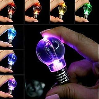 UChic 3 STÜCKE Heiße Verkäufe Unisex Frauen Männer Neue Populäre Klare LED-Licht Lampe Ändern Farben Schlüsselanhänger Geschenk