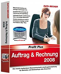 auftrag rechnung 2008 software. Black Bedroom Furniture Sets. Home Design Ideas