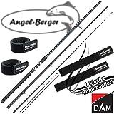 DAM Camaro Feeder Feederrute mit Angel Berger Rutenband (3,90m / bis 120g)